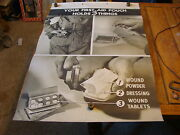 Vintage Wwii Era Training Chart Your First-aid Pouch Holds 3 Things 6