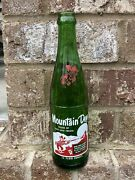 Vintage Mountain Dew Name Bottle Filled By Zeke And Fredia Clean