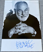 The Very Hungry Caterpillar Eric Carle Signed In-person Bandw Photo - Rare Rip