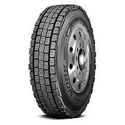 Cooper Set Of 4 Tires 43x11r24.5 L Work Series Awd All Season / Commercial Hd