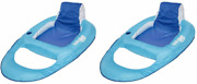 Swimways Swimming Pool Spring Lounger Chair Float Water Recliner With...