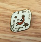 Supreme Session Raleigh, Nc 2000 In 2000 Collectible Vintage Lapel Pin