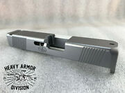 G27 Slide .40 S+w Ft/rear Serrations - Fits Glock And Poly80 Stainless/cerakote