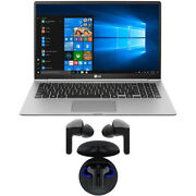 Lg Gram 15.6 Intel Core I7 Fhd Touchscreen Laptop With Lg Wireless Earbuds