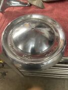 Hubcap 1955 55 1956 56 Chevy Chevrolet Hubcap Wheelcover Dogdish Poverty Oem