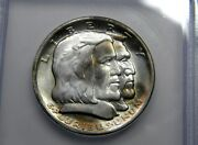 1936 Long Island Ny 50c Icg Ms 66 Pq Gem Coin. Buy The Coin Not The Holder