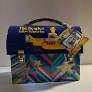 The Beatles Yellow Submarine Dome Lunch Box Salt And Pepper Set