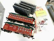 Nos Parts Bachmann G-scale North Star Express Annv-ed With 20' Straight Track