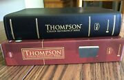 Nkjv Thompson Chain-reference Study Bible, Black Bonded Leather, Red Letter, New