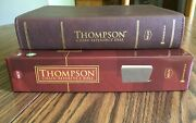 Nkjv Thompson Chain-reference Study Bible, Brown Leathersoft, Red Letter, New