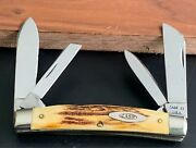 Rare 1965-69 Case Xx 5488 Stag Handle Large Congress Pocket Knife Near Mint