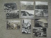 Lot Of 10 Vintage Real Photo Postcard Rppc Mexico Buildings Hotels People More