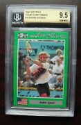 Bgs 9.5 1991 Netpro Tennis Andre Agassi Rookie Card All 9.5 Subgrades