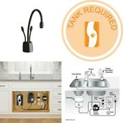 Indulge Contemporary 2-handle Instant Hot And Cold Water Dispenser Faucet In Mat