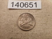 1941 New Zealand Three Pence - Very Nice Higher Grade Collector Coin - 140651