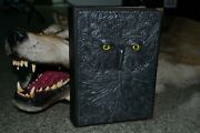Genuine Leather Travel Journal Diary Vintage Retro Travel Taxidermy Notebook