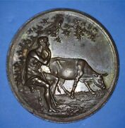 Rare Vintage Prussia Cattle Guardian Whist Marke - Loos - North Star - 60970011