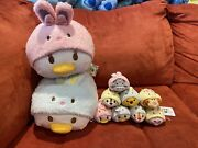 Authentic Japan Disney 2014 Easter Complete Set Of 8 Mini + 2 Mediums- Very Rare