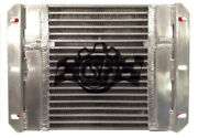 Csf Fits Dual Fluid Bar And Plate Hd Oil Cooler W/9in Spal Fan 1/3 And 2/3 Partition