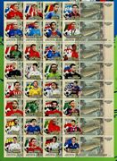 Russia Football World Cup Fifa Best Players Set Of 32 Notes