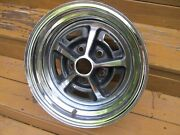 1970and039s Ford 14 X 7 Magnum 500 Chrome Wheel Very Nice Survivor Torino Mustang 2