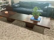 Rare Mid Century Expandable Coffee Table By John Keal For Brown Saltman Original