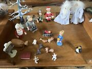 Santa Claus Is Comin' Coming To Town Loose Figures-winter,kris,tanta,topper More