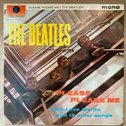 First Press Black And Gold The Beatles Andlrmandndash Please Please Me Pmc 1202 Dick James