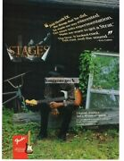 1994 Fender Stratocaster Electric Guitar Eric Gales Vintage Print Ad