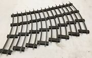 S Scale American Flyer Track Curve 8 Sections