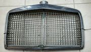 Antique Mercedes Benz Car Grille Oem Used Silver With Details See Pics. Aa69