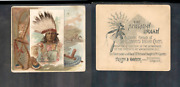 1888 N36 Allen And Ginter American Indian Chiefs And039and039 Chief Gall And039and039 3351