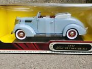 Road Signature 1937 Ford V8 Deluxe Convertible 118 Scale Diecast And03937 Car