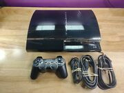 Sony Playstation 3 Ps3 Ceche01 80gb Fat Body Backwards Compatible Bundle