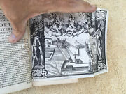 Vintage 1600's Book With Over 25 Block Cut Illustrations 375 Years Old