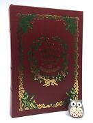 Easton Press Complete Christmas Novels Dickens Leather Carol Chimes Cricket Life