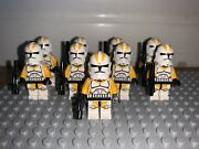 Lego Star Wars Rare Lot Of 9 212th Minifigures 75013 Umbaran Mhc Free Shipping