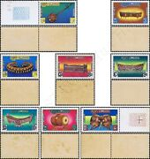 Traditional Music Instruments -not Issued / Set 02- Mnh