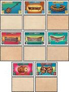Traditional Music Instruments -not Issued / Set 07- Mnh