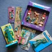 Used Gumby Character Goods Set Strap Figure Toothbrush Very Rare