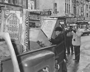 Federal Agents Confiscate Pinball Bingo Machines Vintage 8x10 Reprint Old Photo