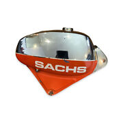 Sachs Red And Chrome Fuel Tank Unusable Condition Used