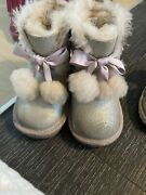Uggs Boots Size 8 Toddler Girl. Worn Once.