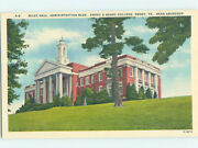 Pre-chrome College Scene Emory - Near Abingdon And Marion And Richlands Va Ag7829@