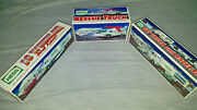 Lot 3 Hess Trucks 1992 1994 2003... Rescue Truck And Racers... Brand New