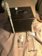 Civil War Period Medical Box And Two Medical Compound Jars