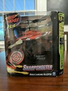 Air Hogs R/c Sharp Shooter Helicopter Sport Red/black
