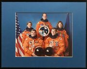 Sts-32 Mission Crew Hand Signed Autographed Photo Rare Astronaut Office Version