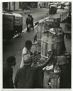 Ed Carswell Poverty, Harlem, Nyc, 1944 / Pix-z / Vintage / Stamped
