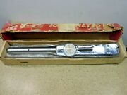 Snapon 3/4 Torque Wrench, 600 Ft/lbs, Ext. Handle, Box